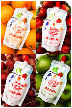 Frutti Milk Packaging