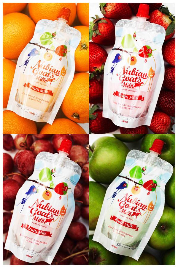 Frutti Milk Packaging