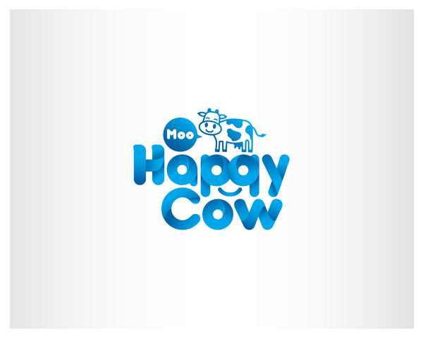Happy Cow Logo by iamcadence