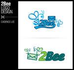 2bee logo design