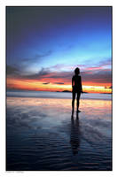 Estelle at sunset by godintraining