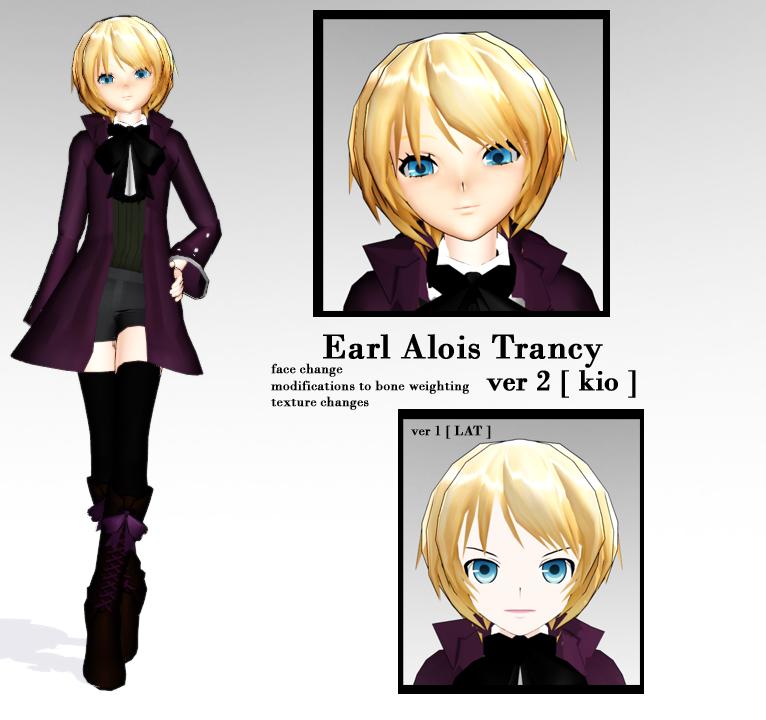 - mmd - alois trancy ver2 kio by Count-L