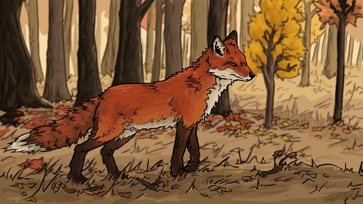 Foxtrot Forest by Skypercane