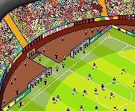 Football Match by Ephebopus365