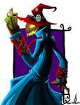 Scarecrow speedpainting by DeadAnthro