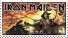Iron Maiden Stamp by Kezzi-Rose
