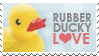 Rubber Ducky Stamp by Kezzi-Rose