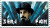 Serj Tankian Stamp by Kezzi-Rose