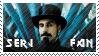 Serj Tankian Stamp by Kezzi-Rose