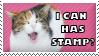 Lolcat Stamp