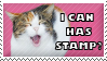 Lolcat Stamp by Kezzi-Rose