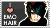 I love emo hair STAMP