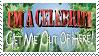 I'm A Celebrity Stamp by Kezzi-Rose