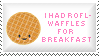 Waffles Stamp by Kezzi-Rose