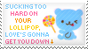 Lollipop Stamp