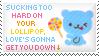 Lollipop Stamp by Kezzi-Rose