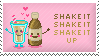 Milkshake Stamp by Kezzi-Rose