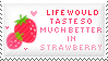 Strawberry Stamp by Kezzi-Rose