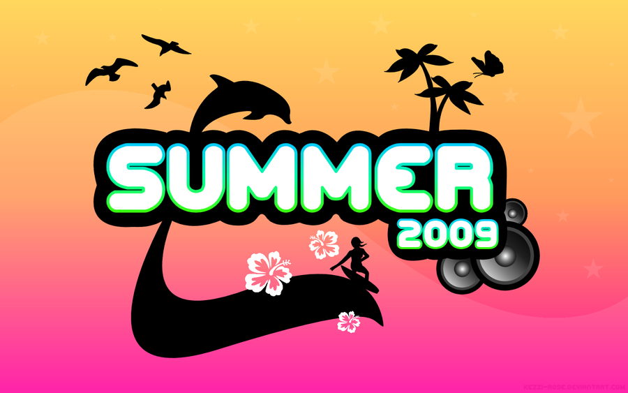 Summer 2009 Wallpaper by Kezzi-Rose