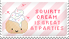 Squirty Cream Stamp by Kezzi-Rose