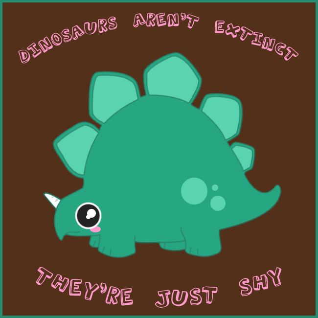 Dinosaur T-Shirt Design by Kezzi-Rose