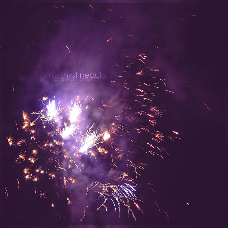 Amethyst Nebula by Kezzi-Rose