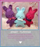 Bunny Plushies
