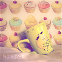 Tea and Cakes by Kezzi-Rose