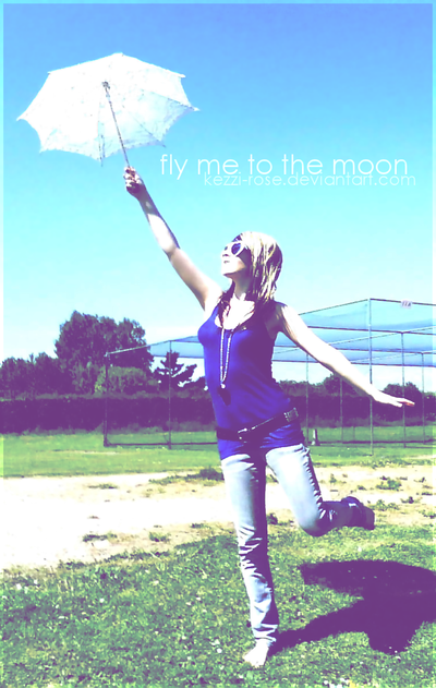 Fly Me To The Moon by Kezzi-Rose