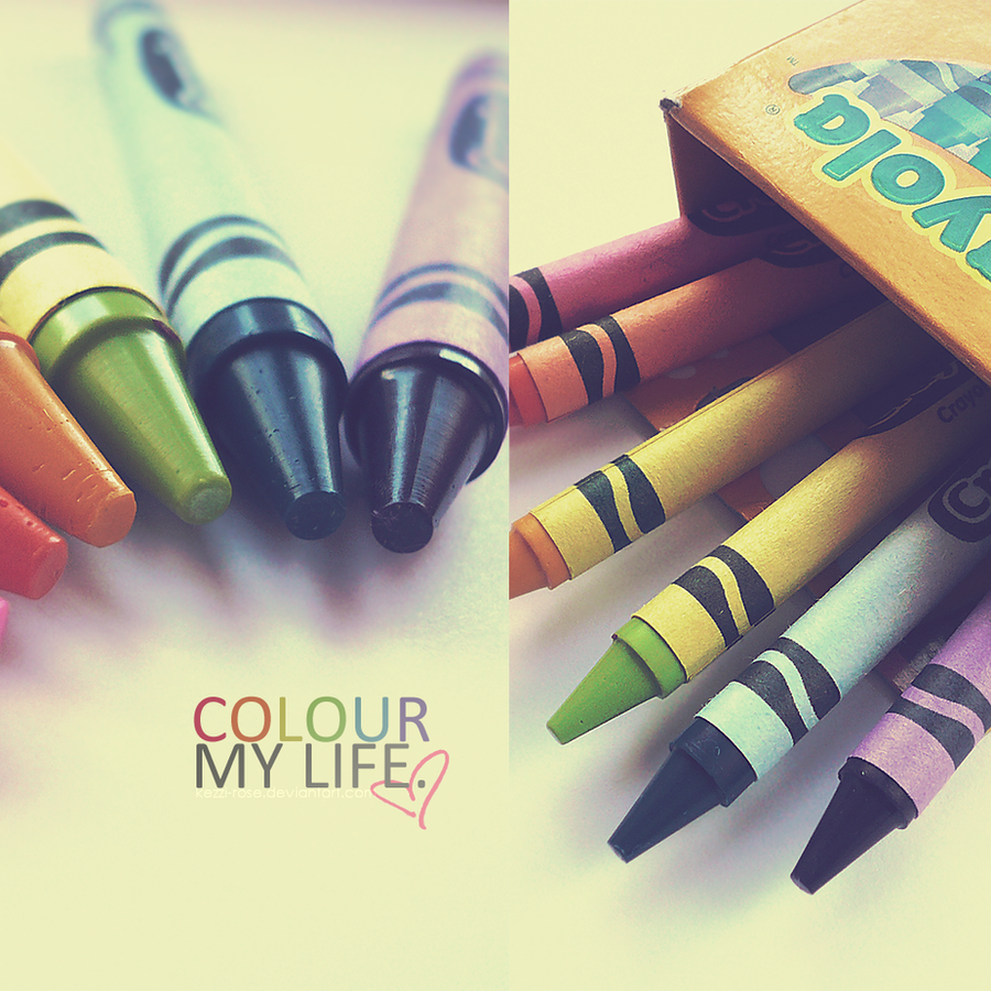 Colour My Life by Kezzi-Rose