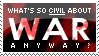 Civil War Stamp by Kezzi-Rose