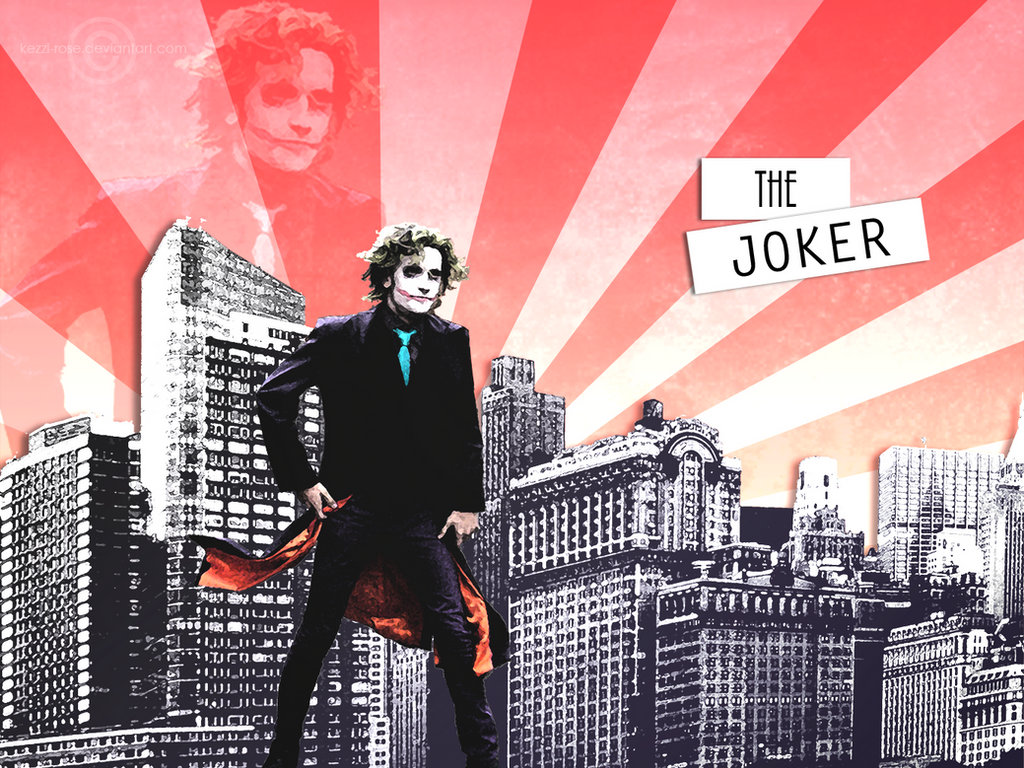 The Joker by Kezzi-Rose