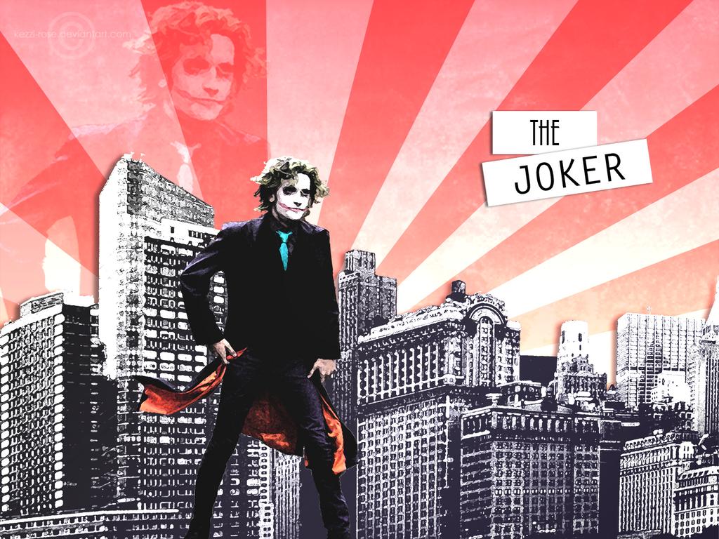 The Joker by Kezzi-Rose