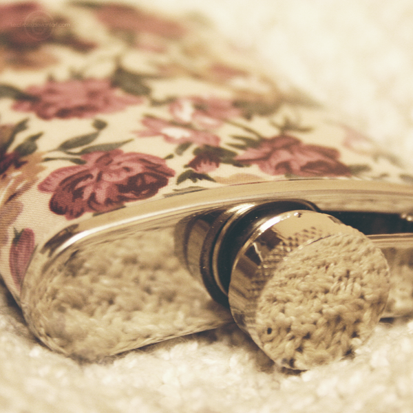 Hipsterflask by Kezzi-Rose