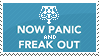 Now Panic Stamp by Kezzi-Rose