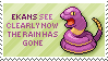 Ekans Stamp by Kezzi-Rose
