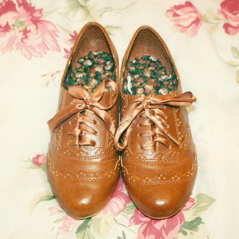 Pretty Brogues by Kezzi-Rose