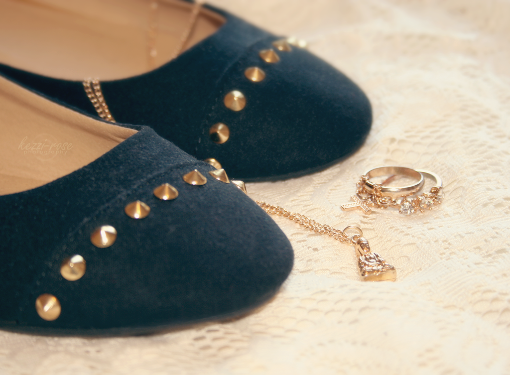 Golden Embellishments by Kezzi-Rose