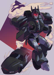 Commission: Knight Rider's KITT {TF Version} by LillinApocalypse