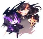 Commission: Violet Vs Jinx