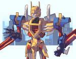 Commission: Metalhawk