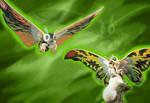 Mothra Leo by Gojigirl