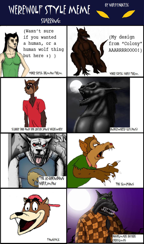 Werewolf Style Meme