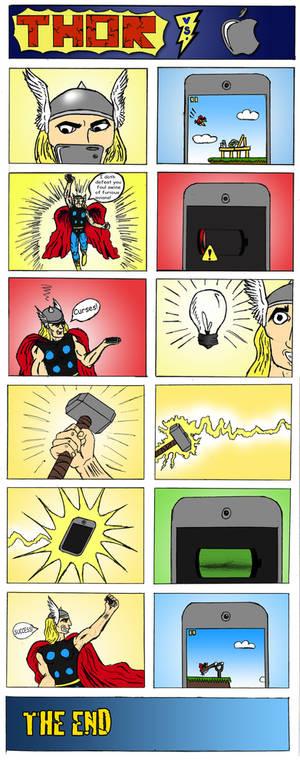 Thor vs. Apple