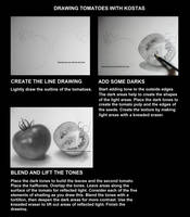 Draw Realistic Tomatoes in Graphite With Kostas by kakosuranosx