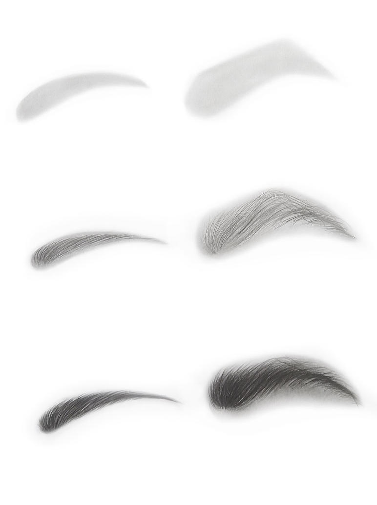 Graphite drawing of eyebrows by kakosuranosx on deviantart for Drawing eyebrows on paper