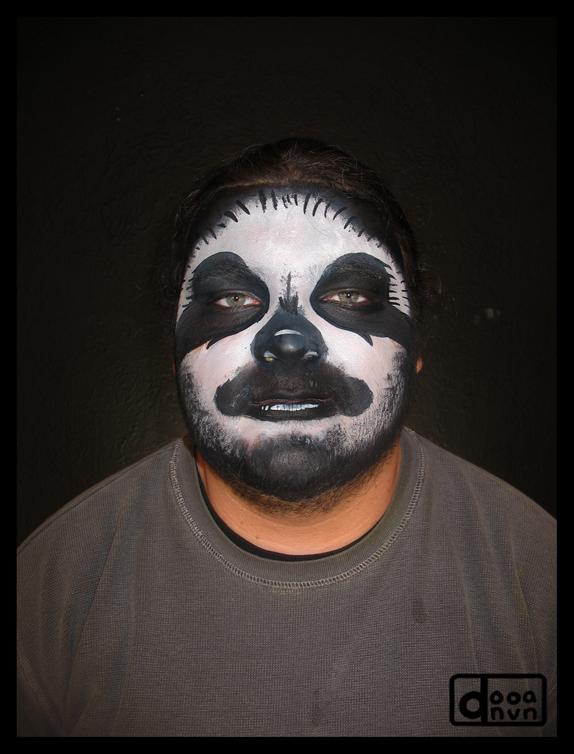 Sloth makeup
