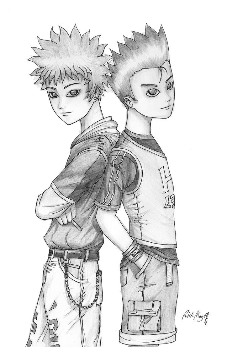 Gon Kilua Duo by artfreakguy