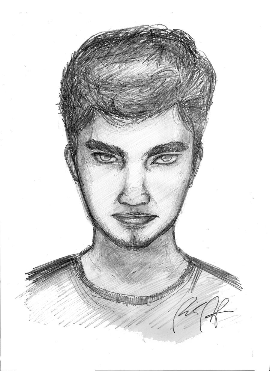Self Portrait by artfreakguy