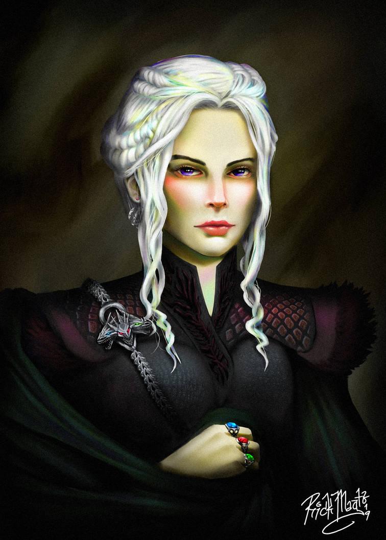 Daenerys Stormborn by artfreakguy